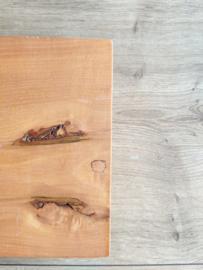 Vintage houten wandrek