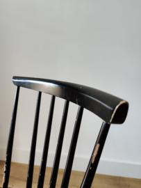 Vintage spijlen stoel