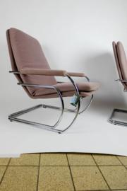 Vintage fauteuils Jan des Bouvrie Gelderland 301