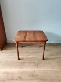Vintage eiken salontafel met 'knots poten'