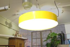 Vintage design hanglamp geel