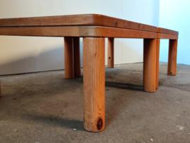 Vintage Scandinavische pine salontafels