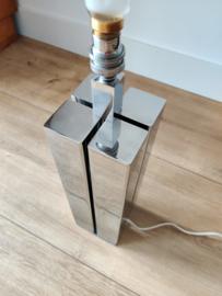 Vintage design tafellamp chroom