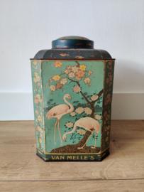Vintage van Melle's flamingo blik