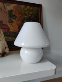 Vintage glazen mushroom lamp