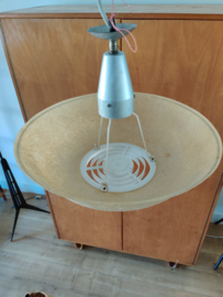 Vintage Philips glasvezel hanglamp Louis Kalff