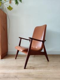 Vintage Webe fauteuil door Louis van Teeffelen