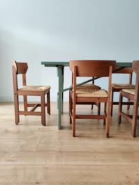 Set/5 Scandinavische stoelen
