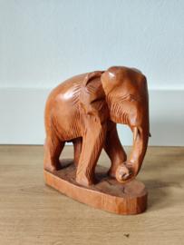 Vintage houten olifant