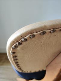 Vintage scissor chair (als Louis van Teeffelen)
