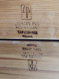 Ilmari Tapiovaara 'hongisto' Laukaan Puu salontafel