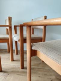 Vintage set 'SVA Möbler' stoelen, made in Denmark