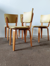 Set vintage eetkamer stoelen door Cor Alons