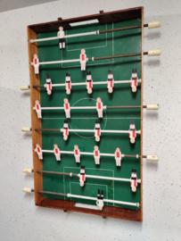 Oud voetbal spel handgemaakt