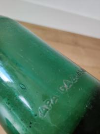 Groene vintage spuitfles