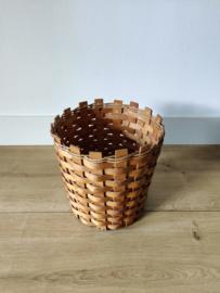Vintage handgemaakte mand tbv plant