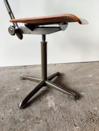 Vintage verstelbare bureaustoel Friso Kramer voor Ahrend
