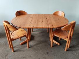 Vintage pine dining set, Vamdrup Denmark