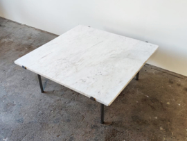 Vintage marmeren salontafel