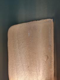 Vintage frosted glazen wandlamp
