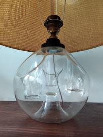 Vintage glazen tafellamp