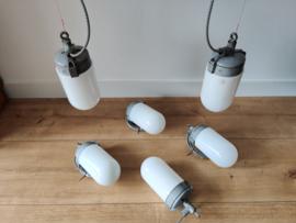Vintage 'Industria Rotterdam' lampen