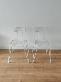 Eighties memphis style stoelen