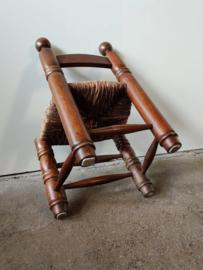 Vintage stoel in stijl van Charles Dudouyt