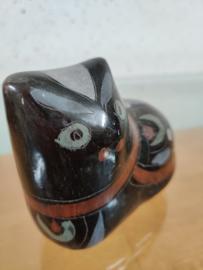 Vintage Mexicaans aardewerk kat