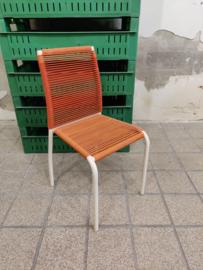 Vintage kinder draadstoel