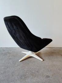 Vintage draai Romefa fauteuil
