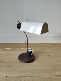 Vintage DDR lamp 1965 door Oskar Immerschied voor Metalldrücker halle