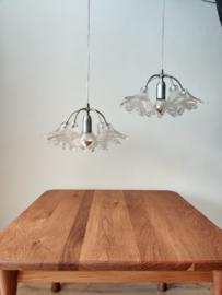 Vintage set glazen hanglampen door Paolo Venini voor VeArt