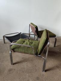 Set vintage Riemersma fauteuils door Wim Ypma