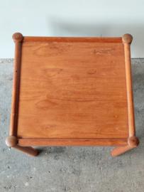 Vintage salontafel vierkant