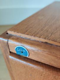 Vintage ladeblokje (kaartenbak)