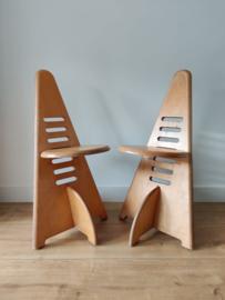 Set vintage Lundi-sit stoelen door Gijs Boelaars