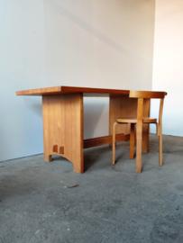 Vintage Jacob Kielland-Brandt tafel 160cm