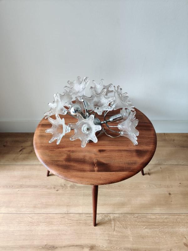 Vintage glazen hanglamp door Paolo Venini voor VeArt