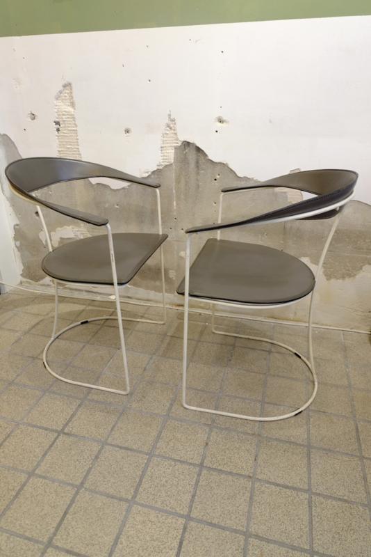 Leren Arrben stoelen