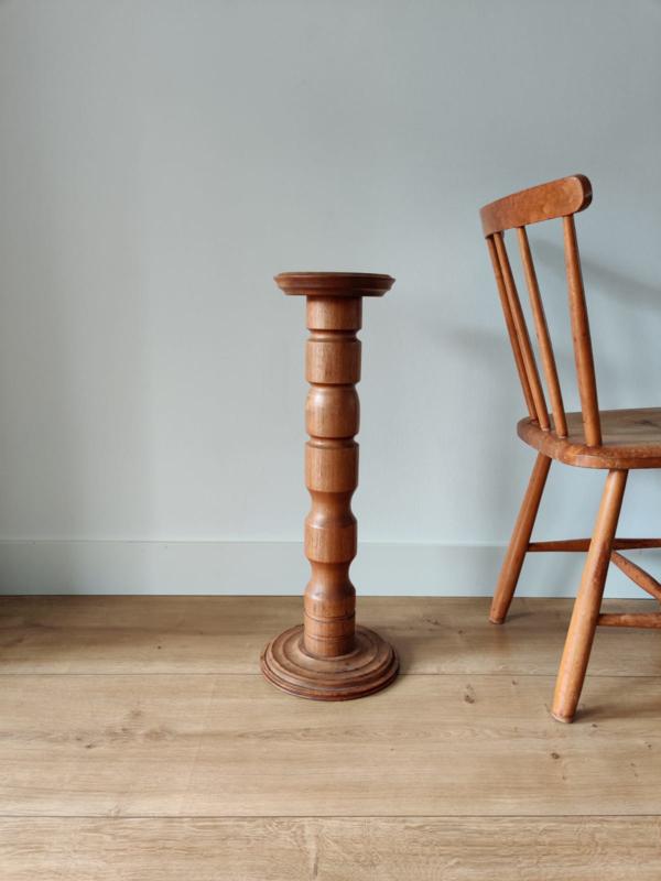 Vintage houten pilaar