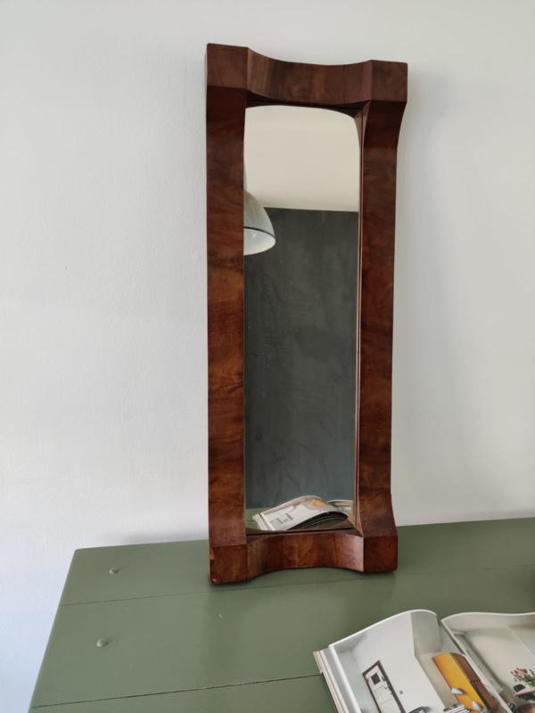 Oude art-deco / brutalist spiegel