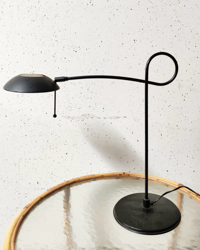 Vintage design bureaulamp Herda