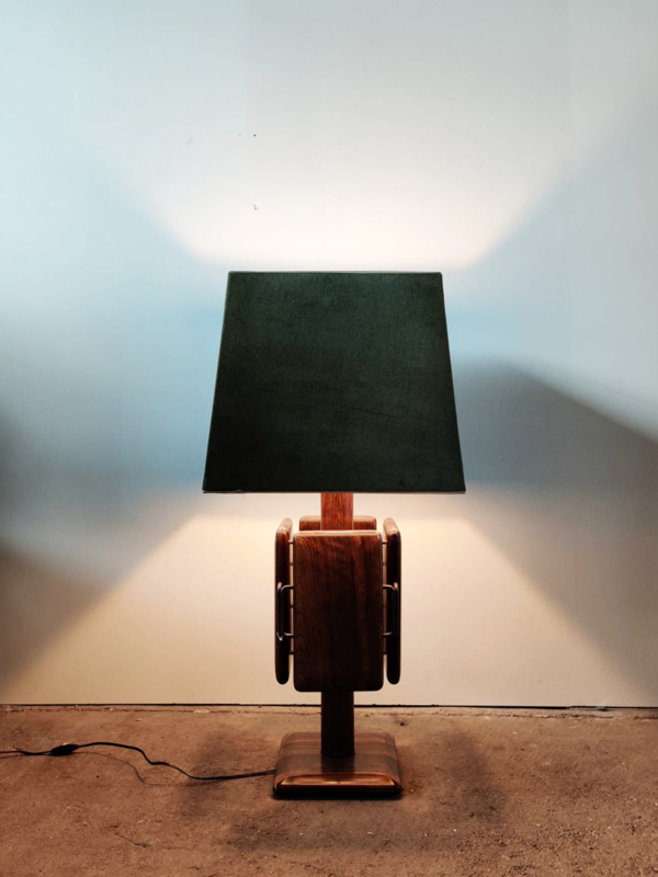 Grote vintage lamp