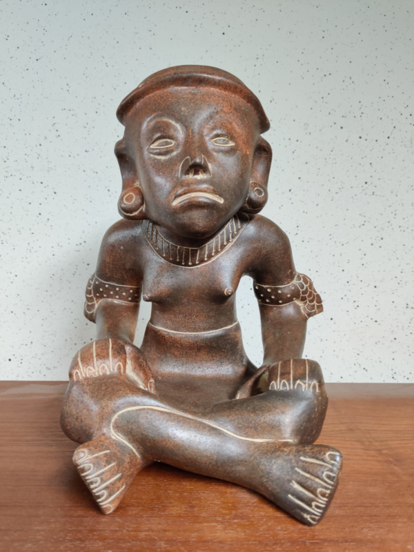 Grote terracotta spaarpot