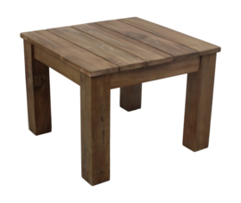 Salontafel Teak natural smooth 60x60x45