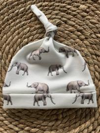 Knoopmutsje olifantjes