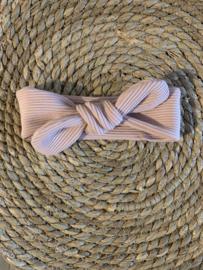 Haarbandje rib nude-roze