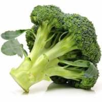 Gestoomde biologische broccoli