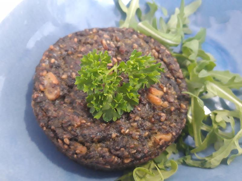 Vegetarische lenteburger